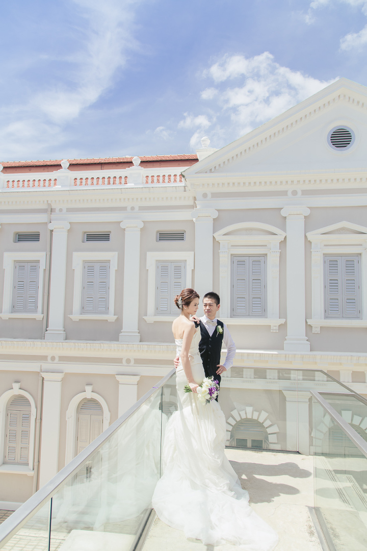 National museum singapore wedding